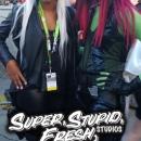 Rogue and Gamora