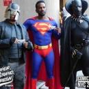 Judge Dredd, Superman, Black Panther,