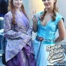 Elsa and Anna,
