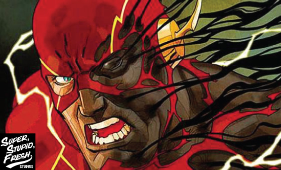 news, article, cartoon, Rebirth recon, flash, barry allen, wally west, DC, Dave johnson, Doctor Carver, central city, August Heart, superstupidfresh.com,