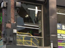 midtown comics, man jumps, second floor window, breaking glass, drunk, stealing, news, superstupidfresh.com,