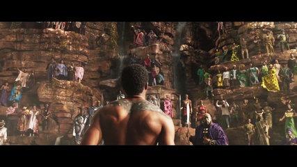 Watch the first full trailer for Marvel's Black Panther, starring Chadwick Boseman, Micheal B. Jordan, Lupita Nyong'o, forest whitaker, Angela Bassett, phylicia Rashad, Daniel Kaluuya
