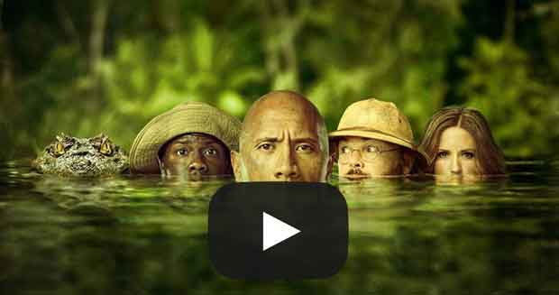 Welcome to the Jungle Official Trailer #2 (2017) Dwayne Johnson, Kevin Hart