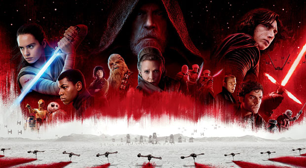 STAR WARS 8- The Last Jedi Final Trailer, before opening (extended) 2017